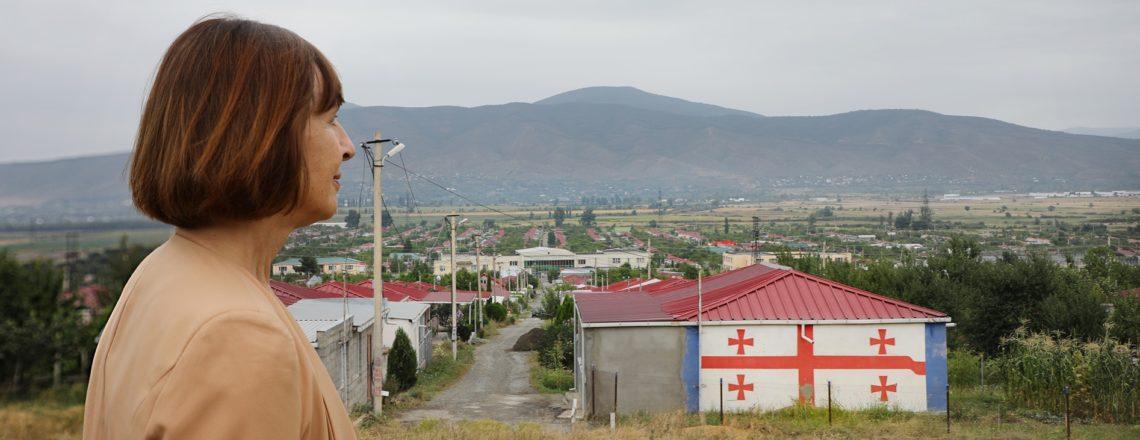 CDA Elisabeth Rood visits Tserovani (August 7)