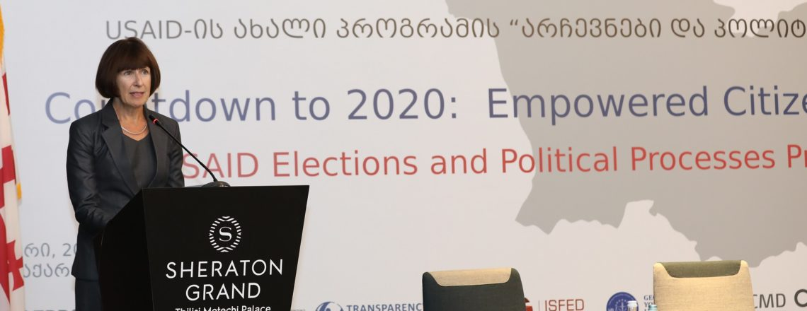 CВA Elizabeth Rood at USAID Elections and Political Processes Program (October 18)