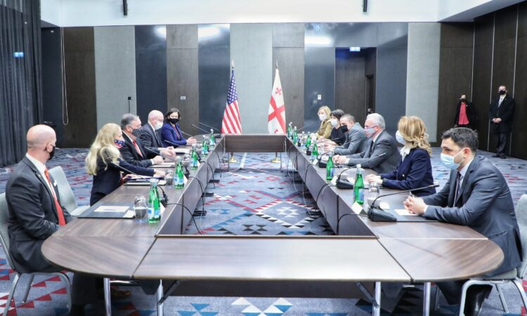Secretary Pompeo meets Civil Society Representatives