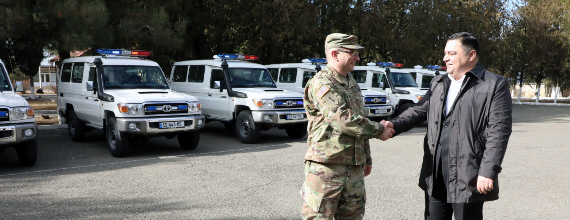 US Government donates high-mobility vehicles to Emergency Management Service of Georgia