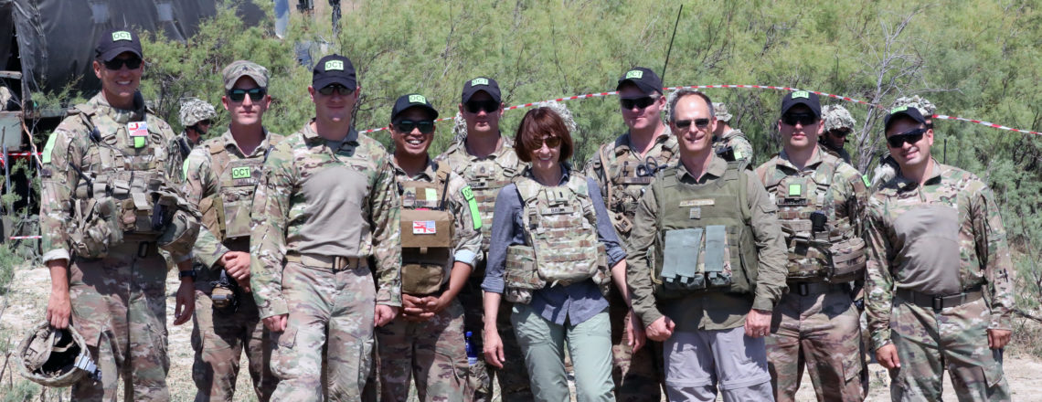 Elizabeth Rood's Comments to Media at GDRP Live-fire (July 16)