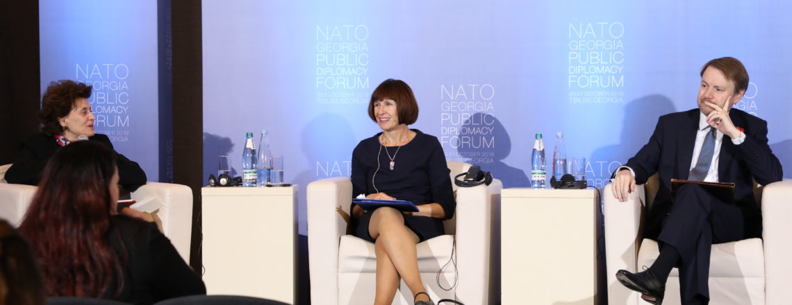 CDA Rood Attends NATO-Georgia Public Diplomacy Forum (October 31)