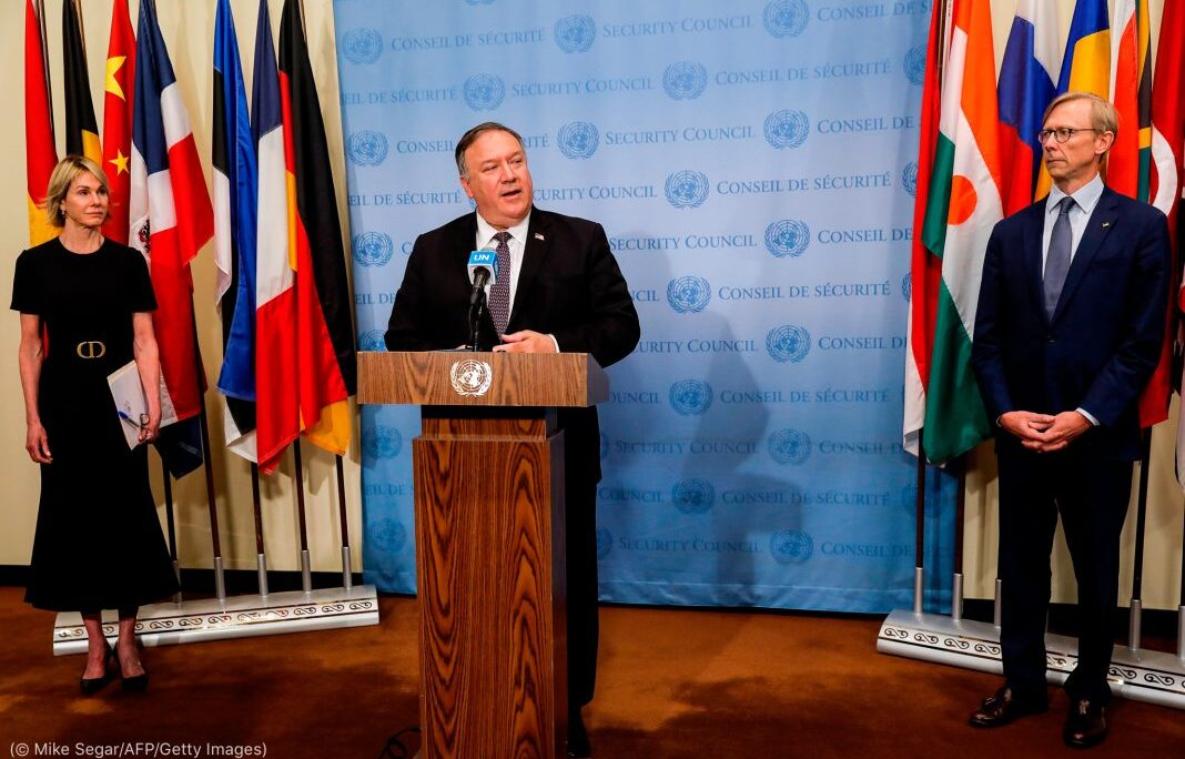 UN Security Council rejects U.S. demand to restore sanctions on Iran