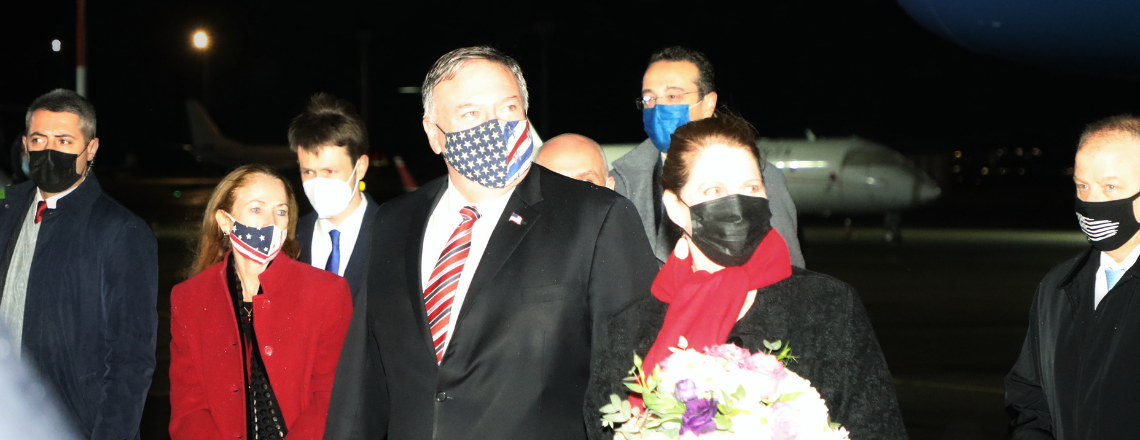 Secretary Pompeo Arrives in Tbilisi