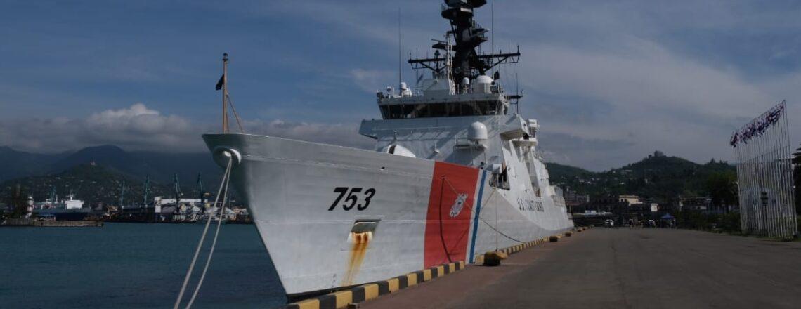 USS Hamilton visits Batumi
