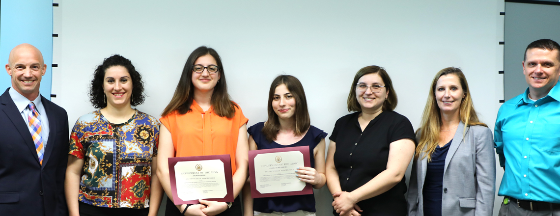 WRAIR Externship Graduation Ceremony (July 31)