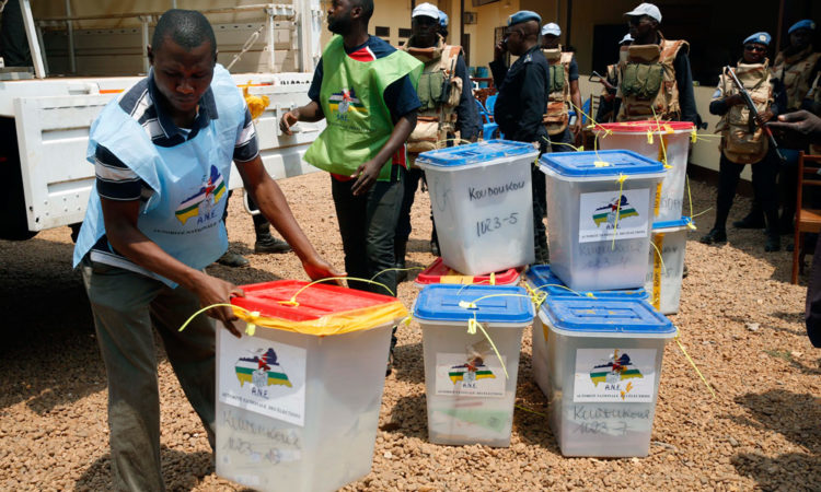 Results of the Presidential Elections in the Republic of Congo