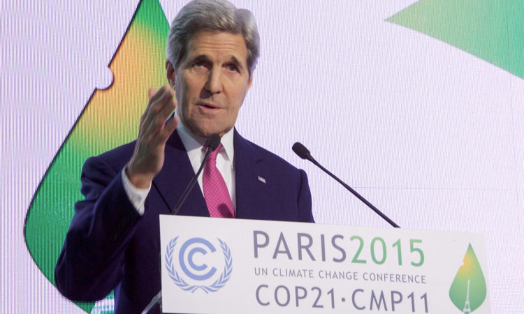 Secretary Kerry at COP21