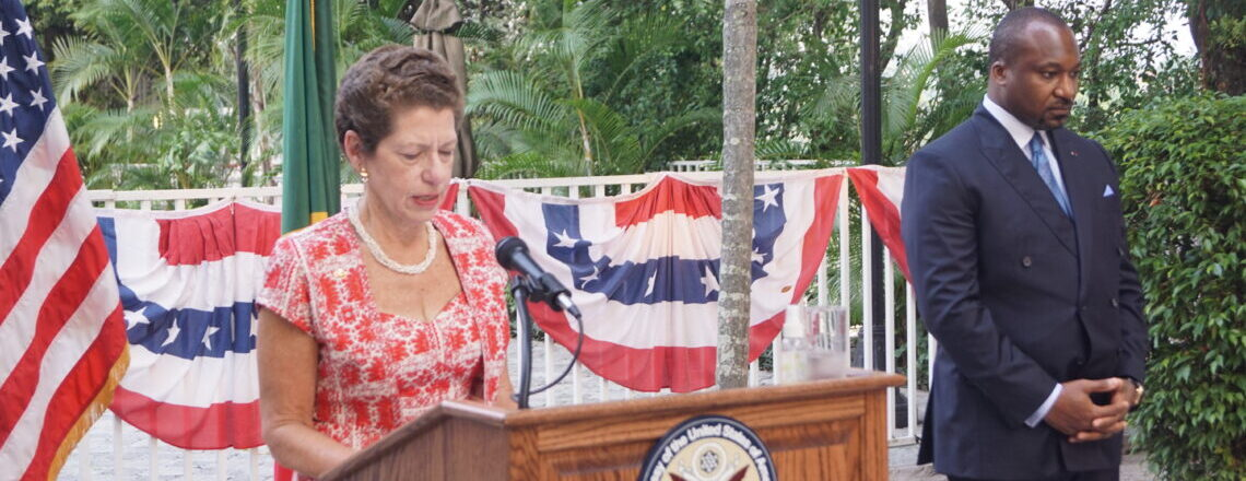 July 4th 2021:  Chargé d'Affaires Ellen Thorburn Remarks (in French)