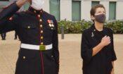 CDA Thorburn and Marines 9/11 Commemoration