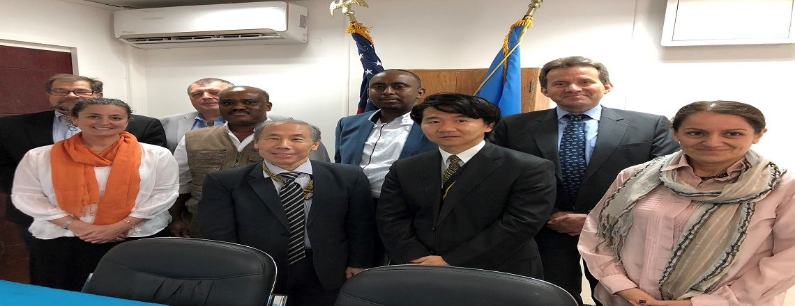 Ambassador Yamamoto holds roundtable discussion with humanitarian organizations