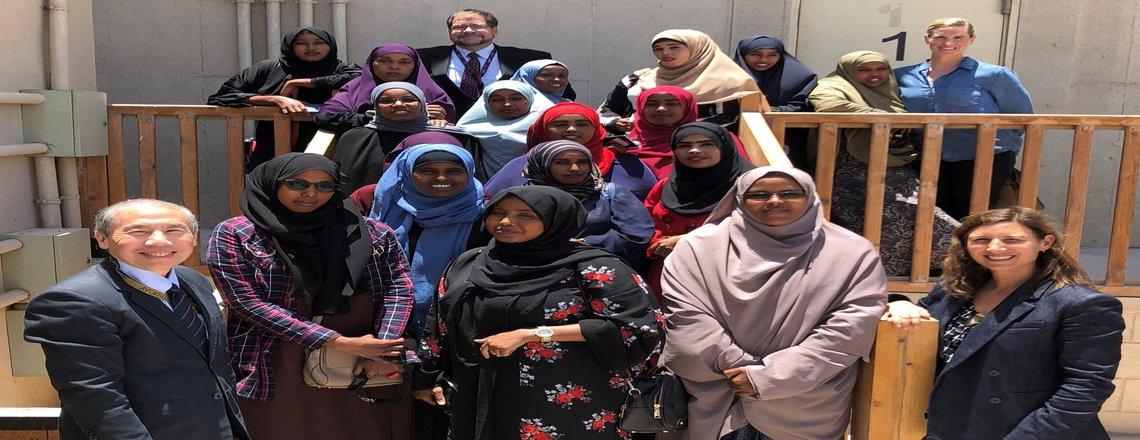 US Ambassador Yamamoto hosts Women's Day discussion with Somali women journalists