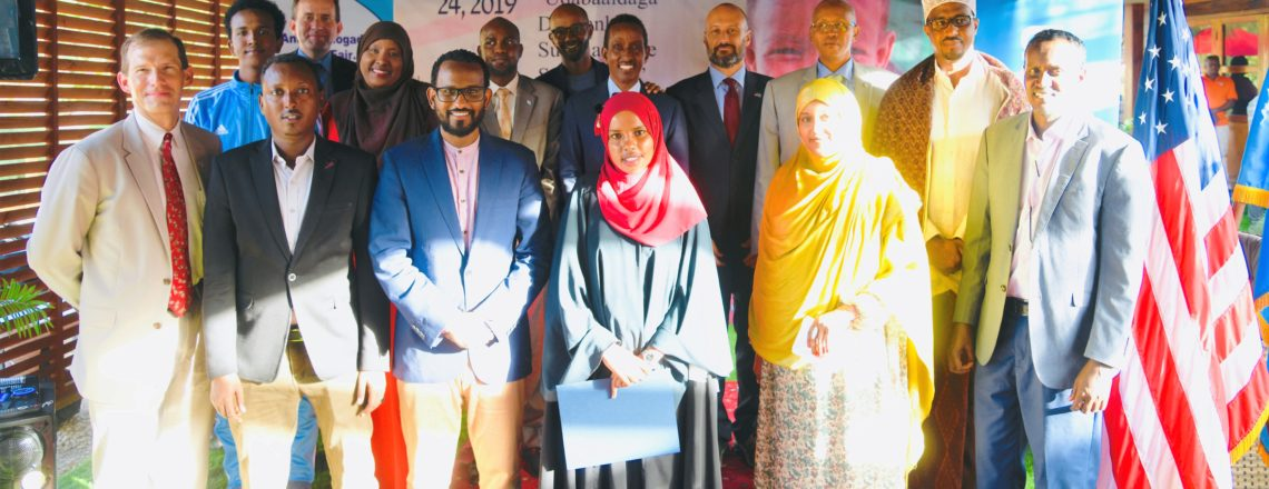 Chargé d'Affaires hosts closing reception for Mogadishu Book Fair