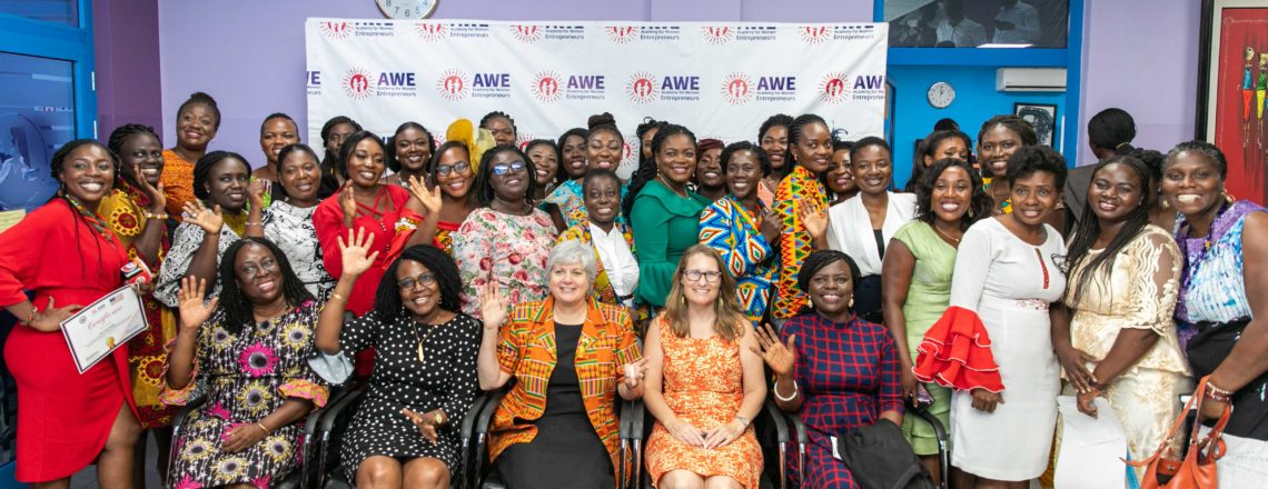 Academy of Women Entrepreneurs (AWE) Certificate Ceremony – Remarks by Amb. Sullivan