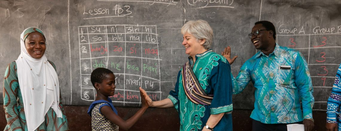 America and Ghana: Partners for Education