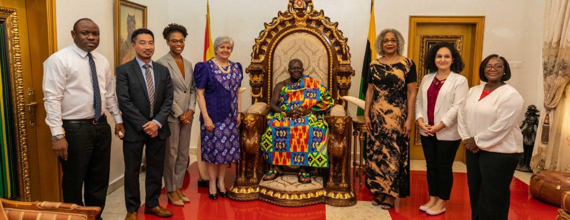 Ambassador Sullivan Travels to Ashanti Region to Promote USA-Ghana Partnerships