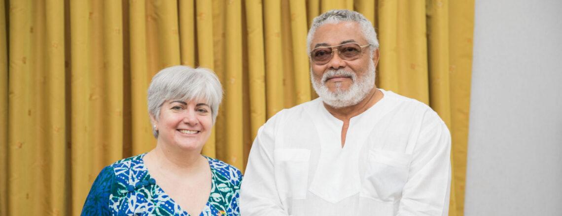 Statement by Ambassador Sullivan on the passing of Ghana's Former President J.J. Rawlings