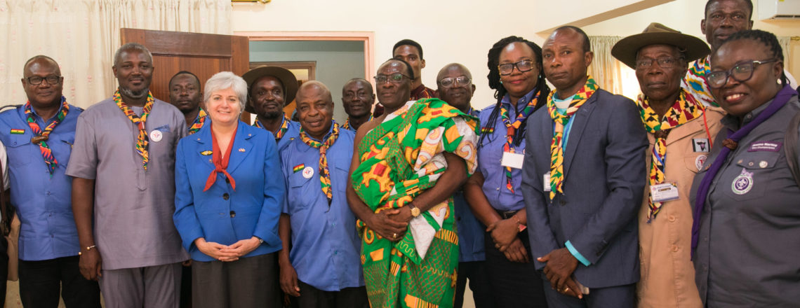 Remarks by Amb. Sullivan at 3rd International Scouts and Guides Fellowship Reg. Conference