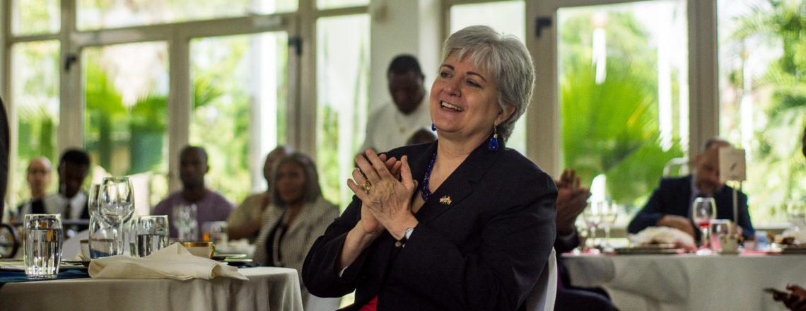 Welcome Remarks by Amb. Sullivan at USTDA-AmCham Breakfast