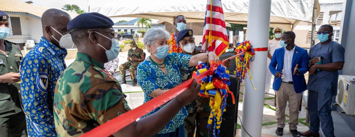 U.S. Ambassador Sullivan Inaugurates Malaria-Focused Laboratory at 37 Military Hospital