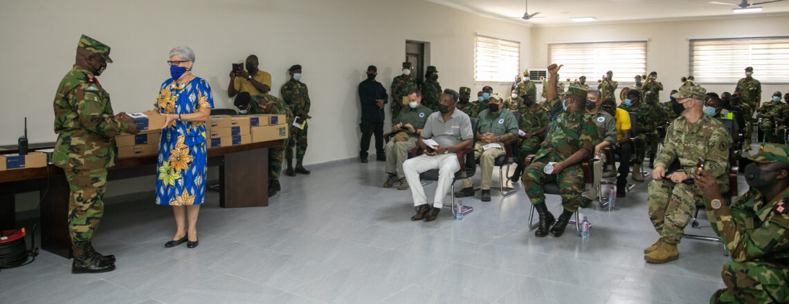 U.S. and Ghana Armed Forces Partner to Build Pre-Deployment Training Capacity at Bundase