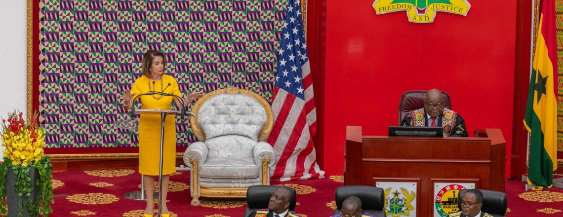 Speaker Pelosi's Remarks  – Address to the Ghanaian Parliament