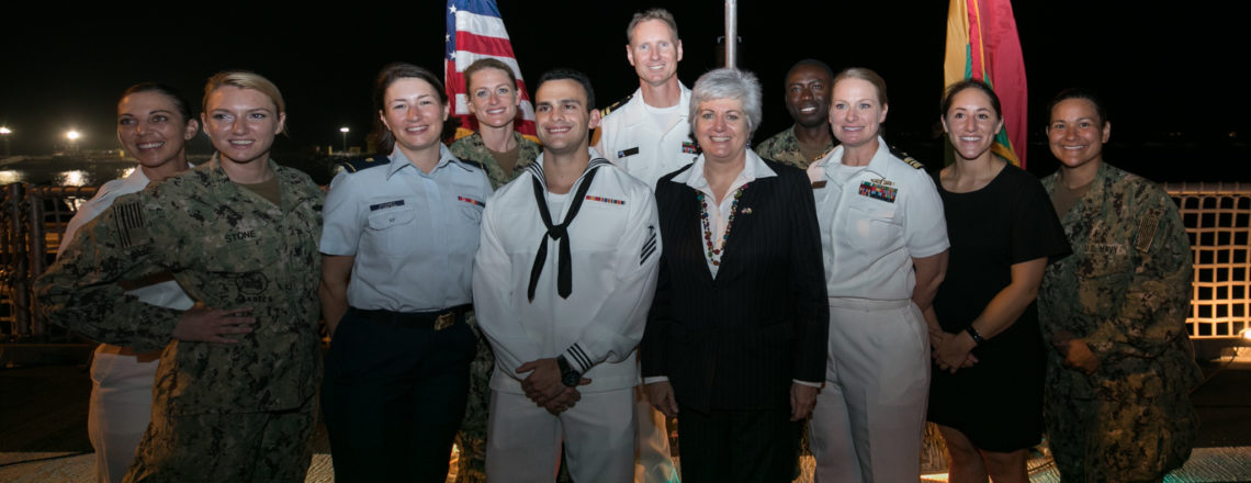 Ambassador Stephanie Sullivan's Remarks – U.S. Navy Carson City Ship Reception