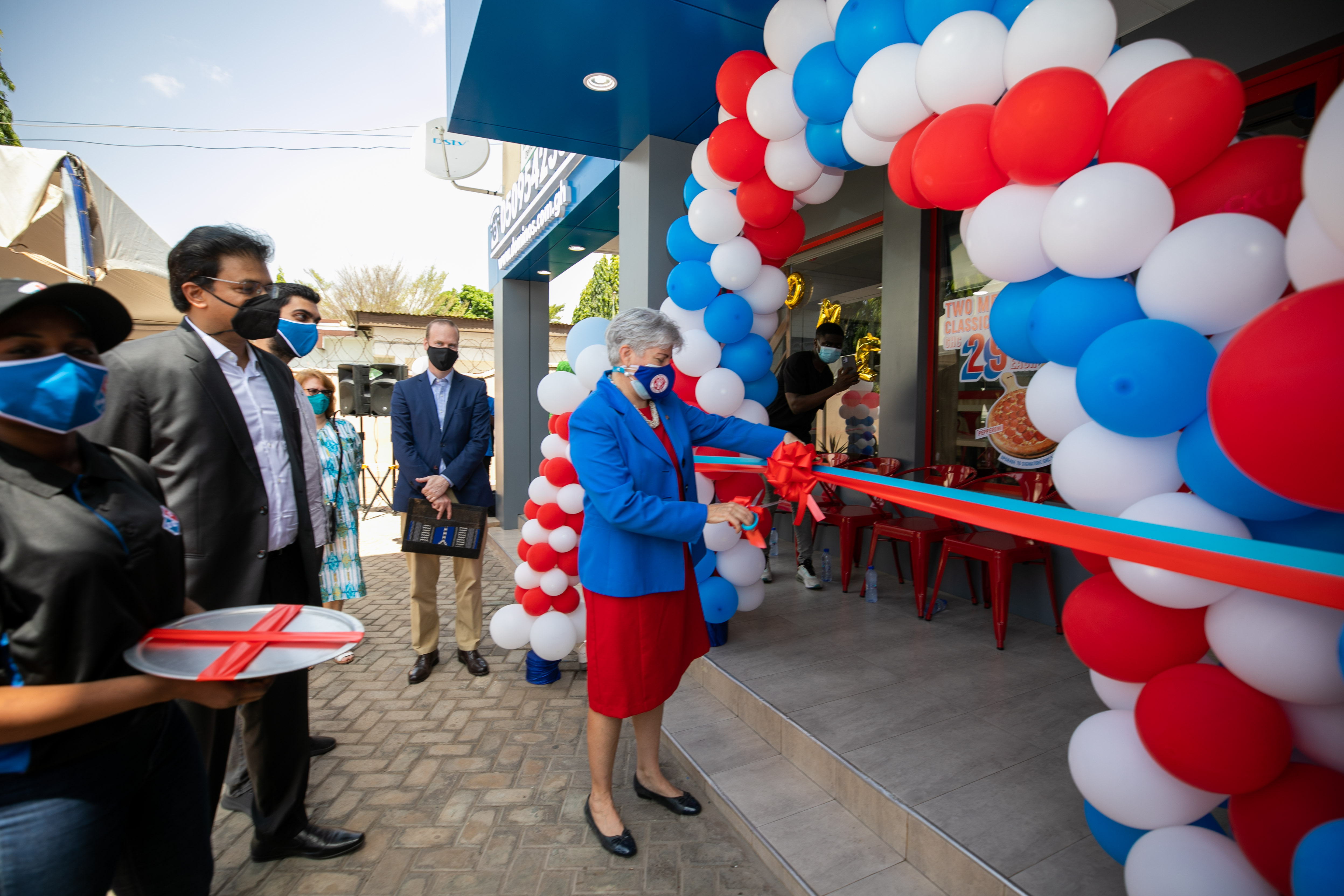 Opening of Domino's Pizza in East Legon – As Prepared Remarks by Ambassador Sullivan