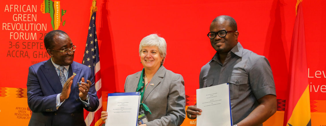 United States and Ghana Sign Declaration of Partnership on Food Security