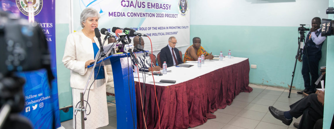 Ghana Journalists Association Media Convention – Remarks by Amb. Sullivan