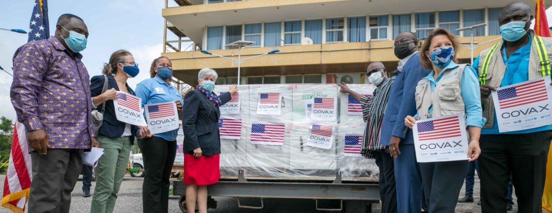 U.S. Donates 1,229,620 Moderna COVID-19 Vaccines to Ghana
