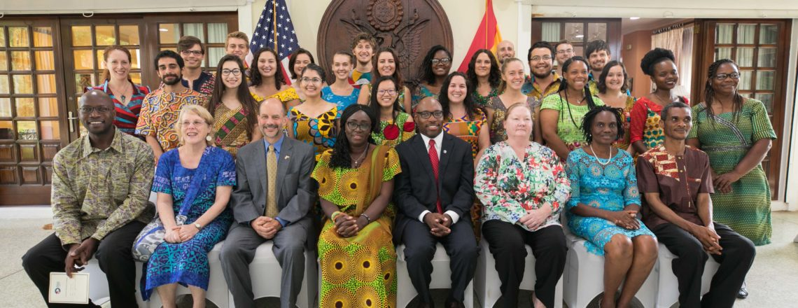 Remarks by Chargé D'Affaires Christopher Lamora – Peace Corps Volunteers Swearing-in
