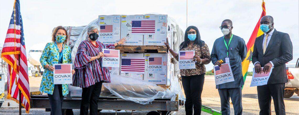 U.S. Donates 1.3 Million More COVID-19 Vaccines to Ghana