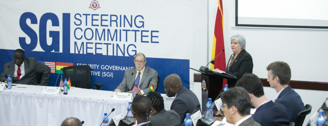 USA and Ghana Host 5th Security Governance Initiative Steering Committee Meeting