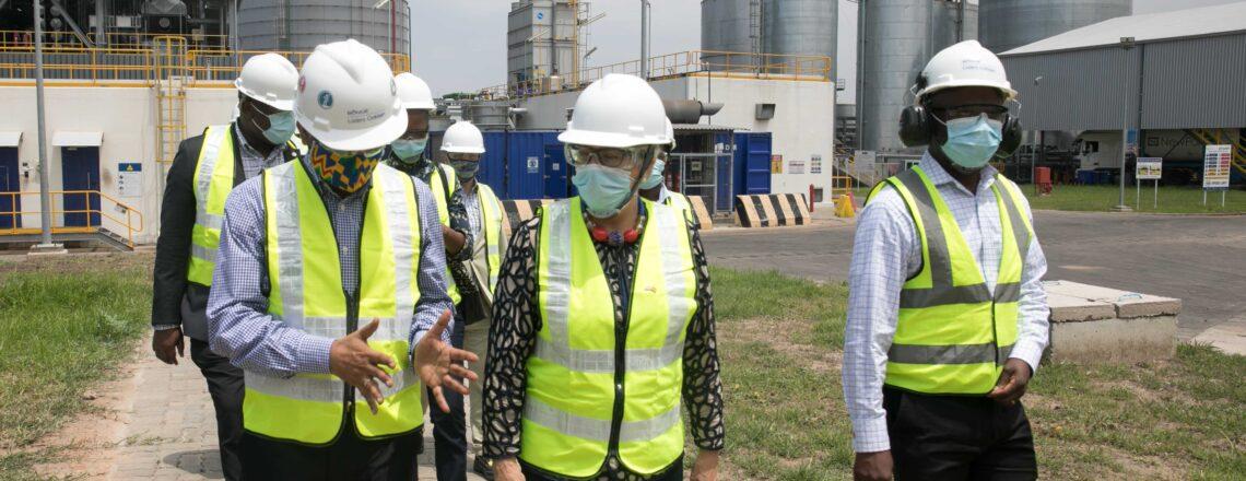 Ambassador Sullivan's visit to U.S. Bunge Loders Croklaan's Shea Processing Facility