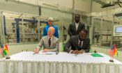U. S. and Ghana signing the MOU