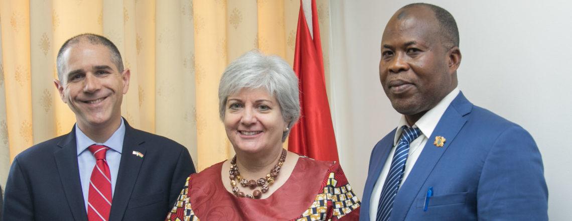 U.S. Assistant Secretary of State for Consular Affairs Carl Risch Visits Ghana