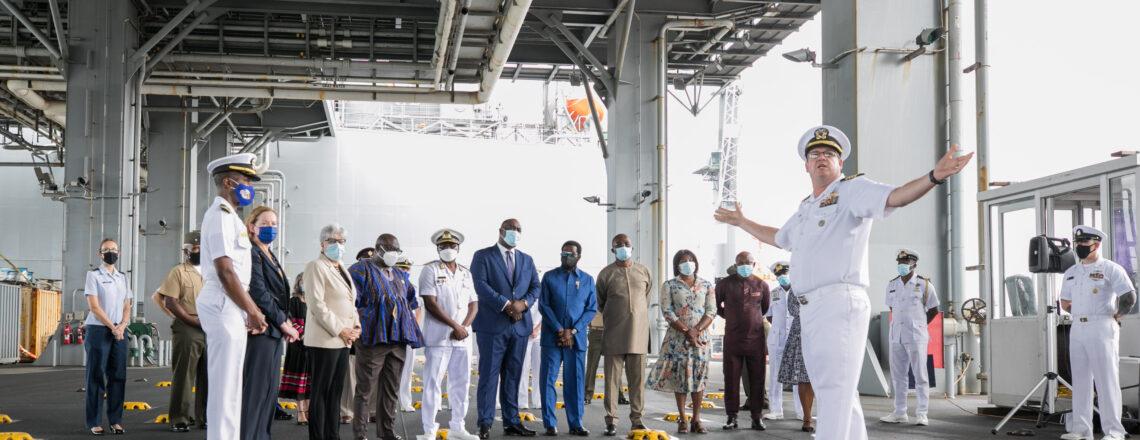 "USS Hershel ""Woody"" Williams Strengthens U.S.-Ghana Maritime Security Partnership"