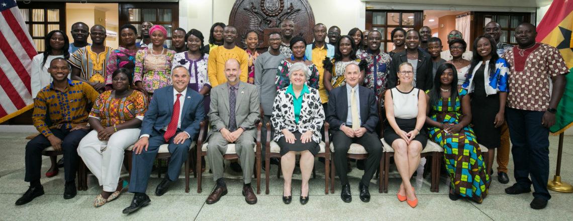 Ambassador Sullivan Honors 2019 Mandela Washington Fellows