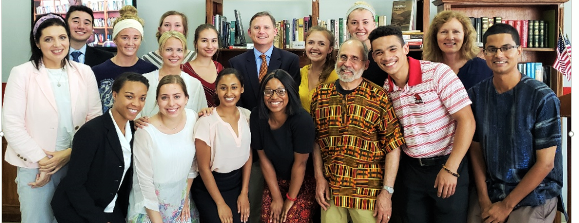 Ambassador Meets with Miami University Students