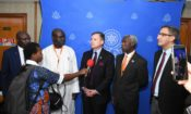 Press conference with Ambassador of the USA in the Gambia Mr. Richard Carlton Paschall III