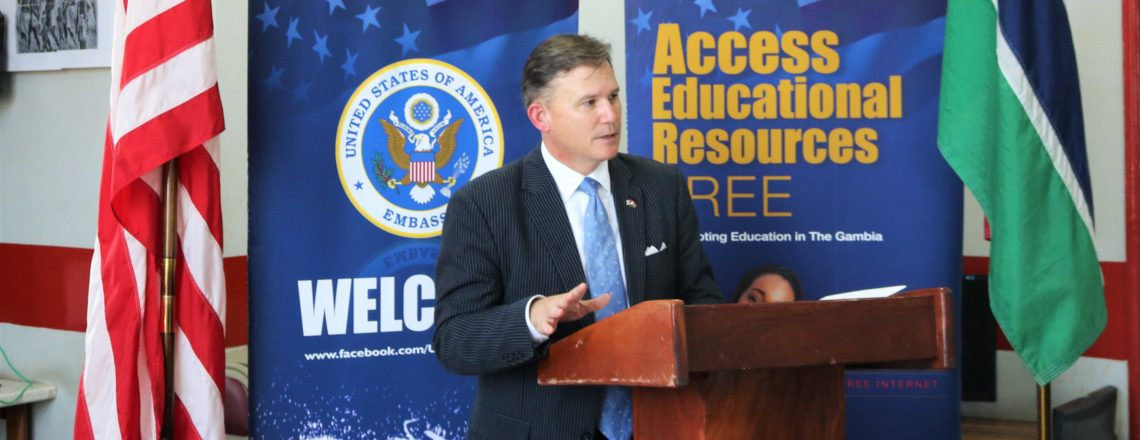 Ambassador Paschall Addresses Human Trafficking at Juneteenth Event