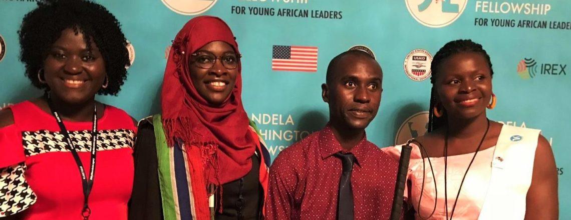 2019 Mandela Fellows Showcase The Gambia's Rich Culture at Washington Summit