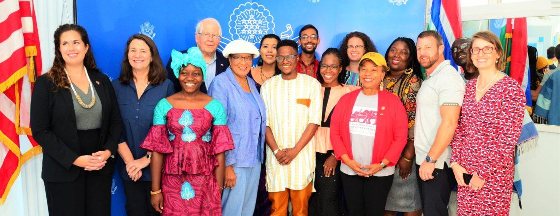 CODEL Members Meet Peace Corps Volunteers