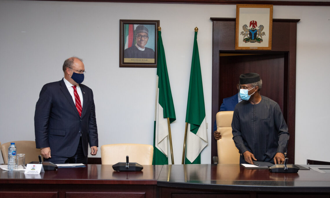 Counselor Brechbühl's Meeting with Nigerian Vice President Osinbajo