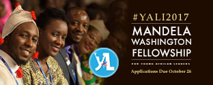 Apply YALI 2017