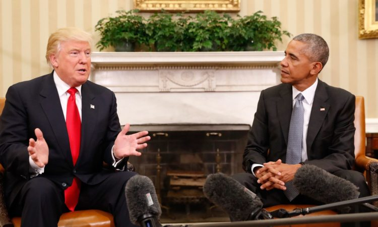 President Obama and President-Elect Trump