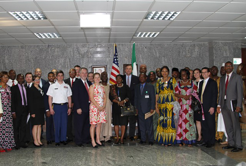 Group Photo - US-Nigeria Bi-National Commission Working Level Meeting - December 13, 2016. Photo Credit: US Embassy / Sani Mohammed