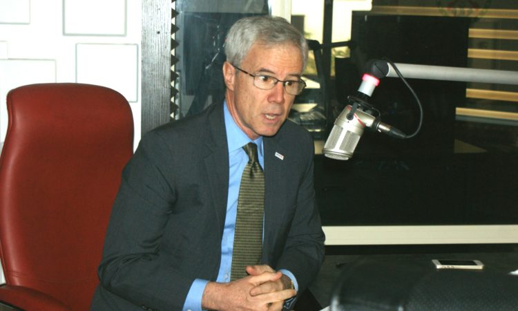 USAID Nigeria Mission Director Mike Harvey discuss USAIDhumanitarian_assistance on Armed Forces Radio