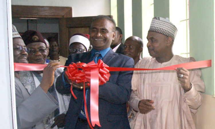 US Embassy Counselor for Public Affairs cuts tape to open Hidden Treasures of Jos Museum Exhibition